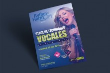 Affiche Stage de techniques vocales