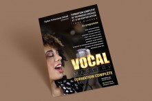 Affiche Vocal Mastery
